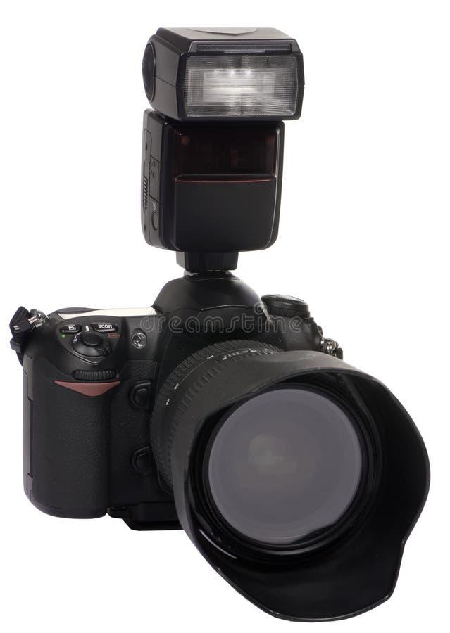 4台照相机数字式dslr 免版税库存照片