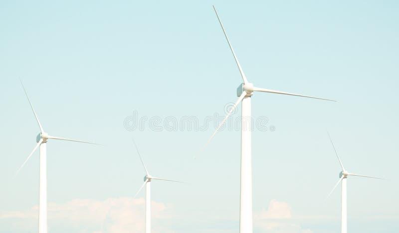 4台风轮机 免版税库存图片