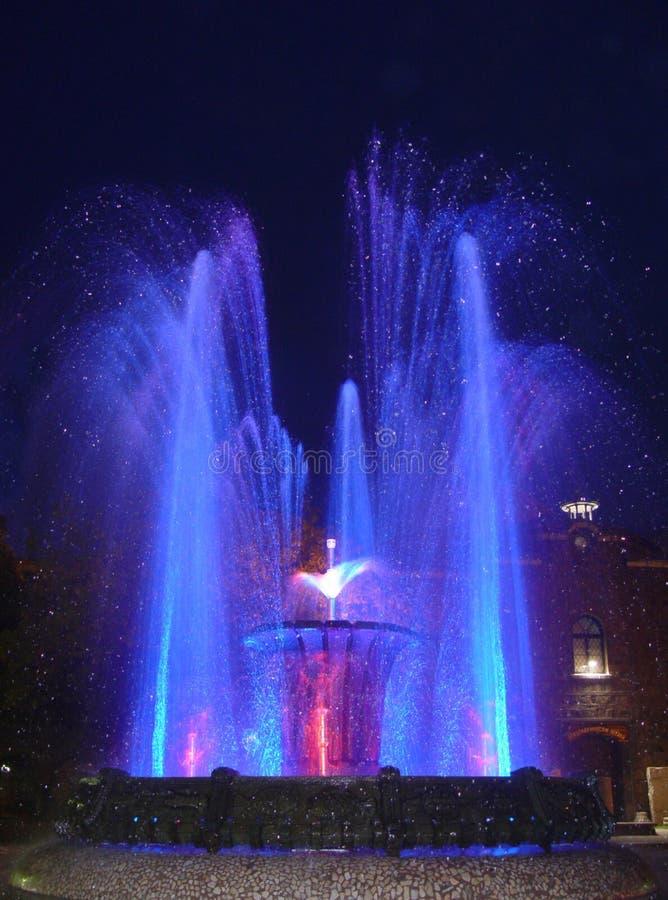 4喷泉 免版税库存照片