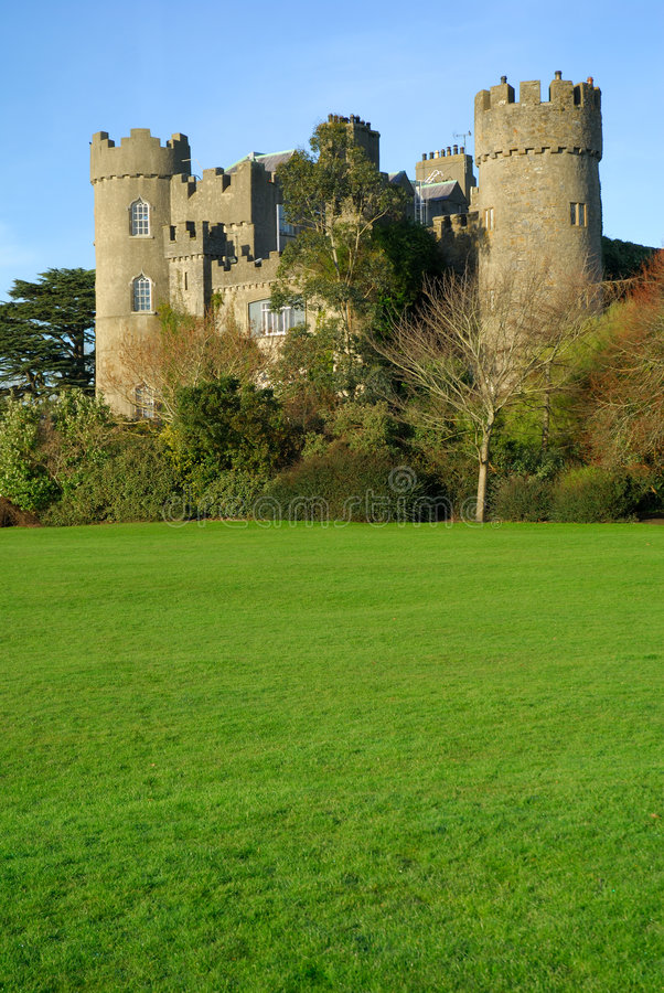 4座城堡malahide 库存图片