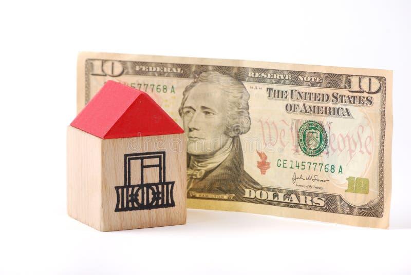 4房子 免版税库存图片