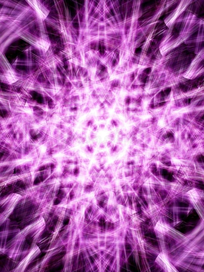 4抽象光 库存例证