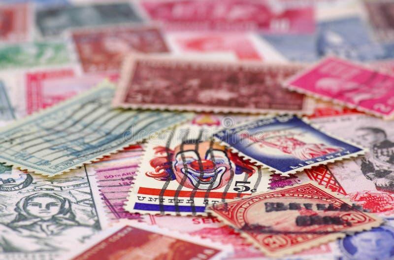 4收集的印花税 免版税库存照片