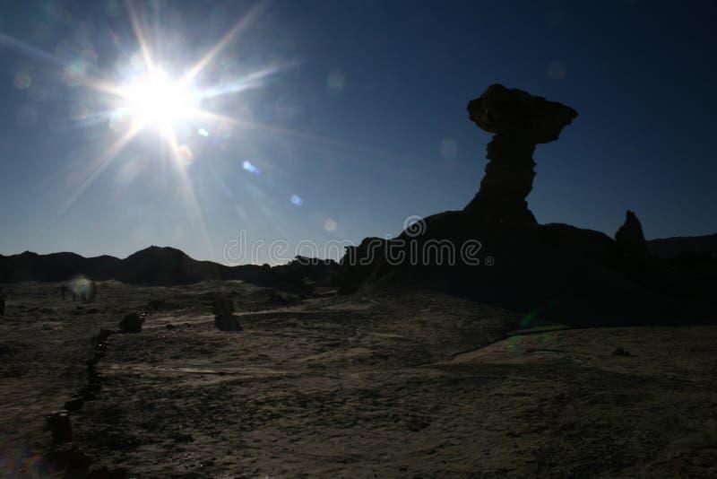4月2007日胡安月亮圣谷 免版税库存图片