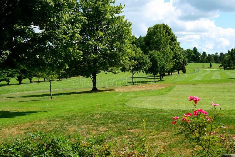 4条路线高尔夫球 免版税库存照片