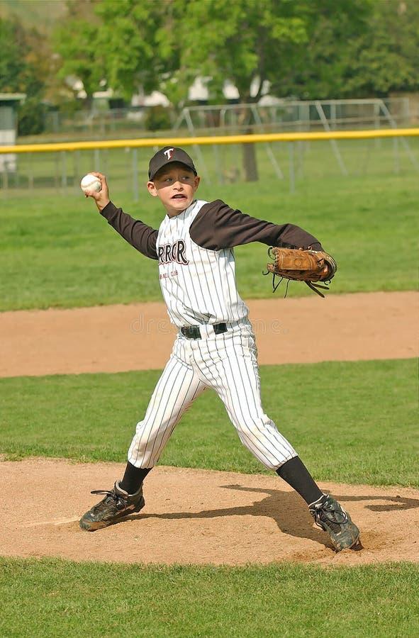 4棒球投手 库存照片