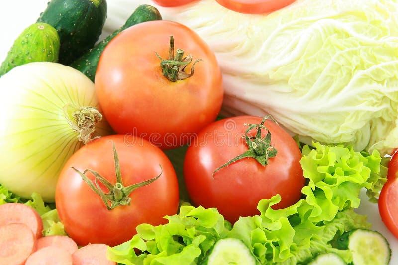 4棵蔬菜 免版税库存照片