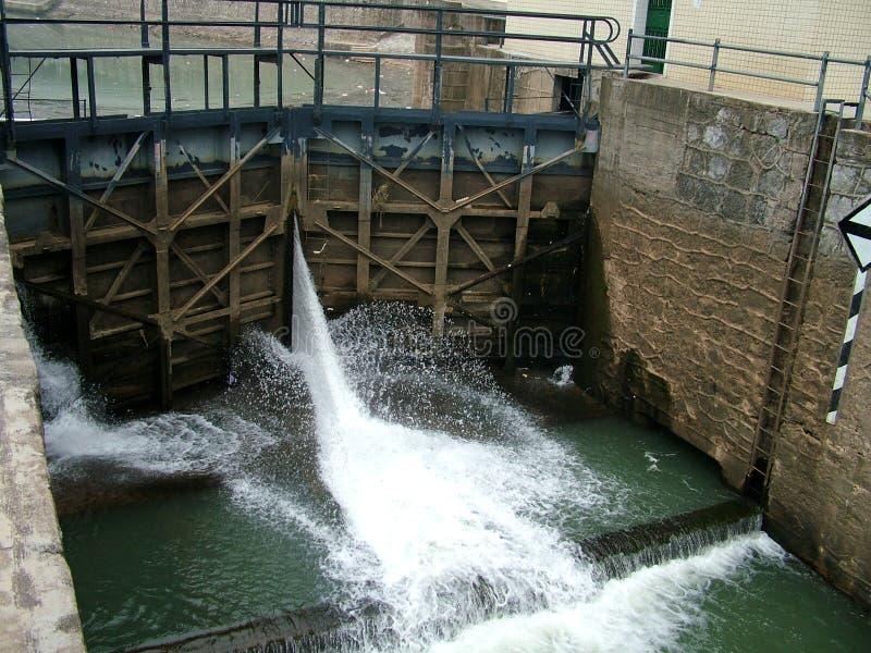 4水坝 免版税图库摄影