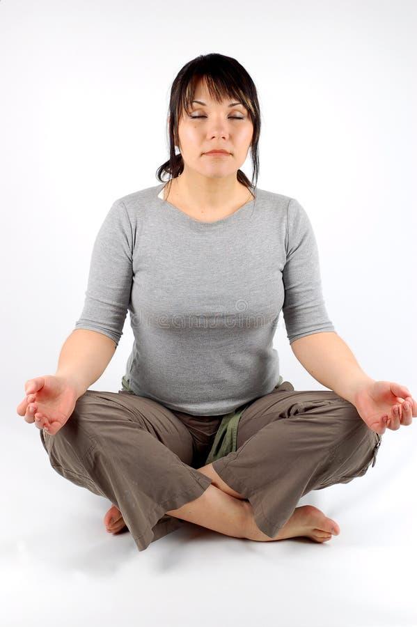 4瑜伽 图库摄影