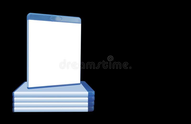 4蓝色盖子光芒 库存照片