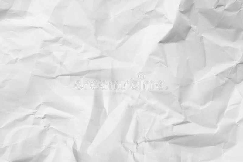 4被弄皱的纸纹理 免版税图库摄影