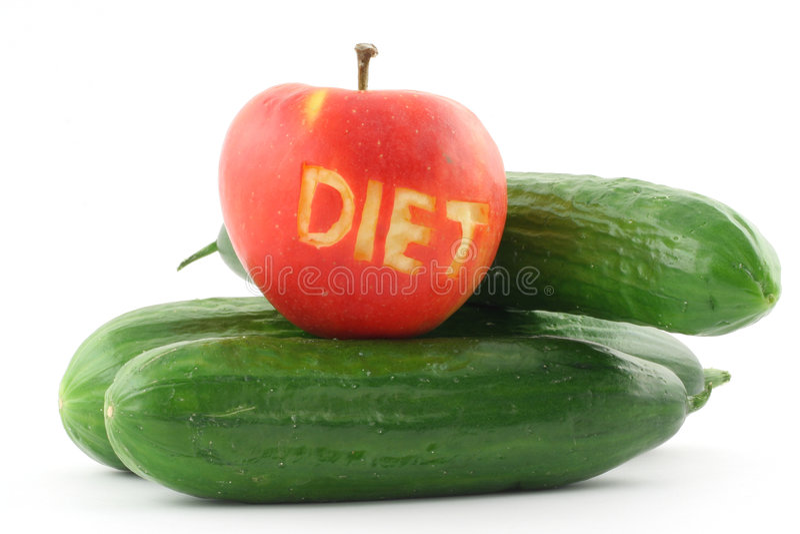 4饮食 免版税库存图片