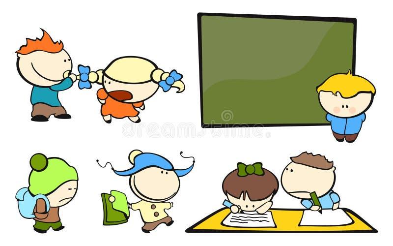 4 śmieszna dzieciaków szkoła