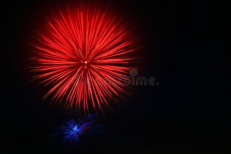 4$α πυροτεχνήματα Ιούλιο&sigma στοκ φωτογραφία