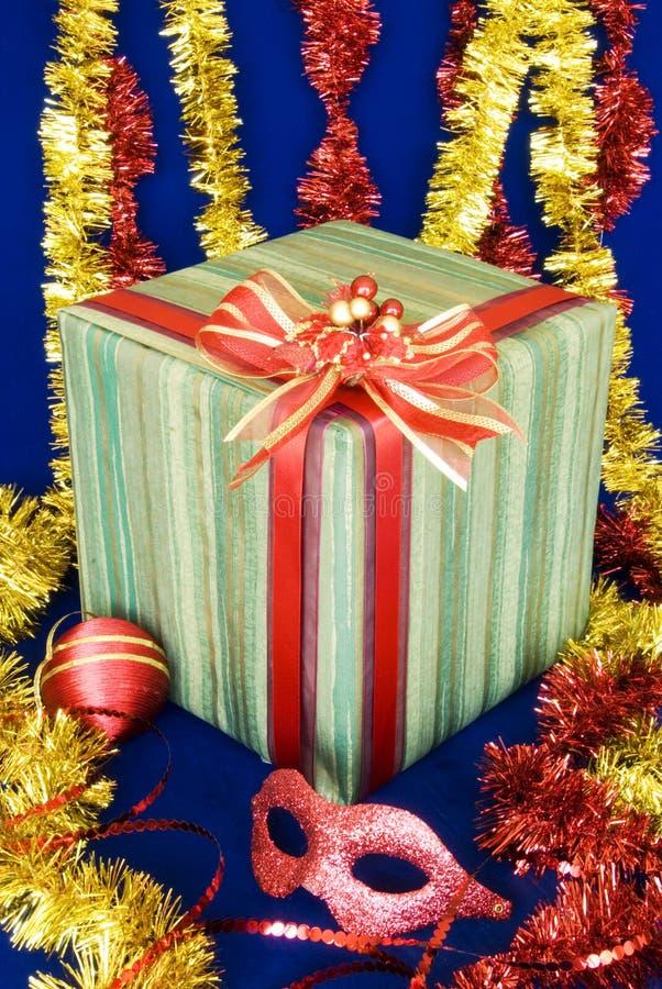 4 δώρα Χριστουγέννων στοκ εικόνες