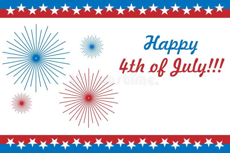 4$η κάρτα Ιούλιος ελεύθερη απεικόνιση δικαιώματος