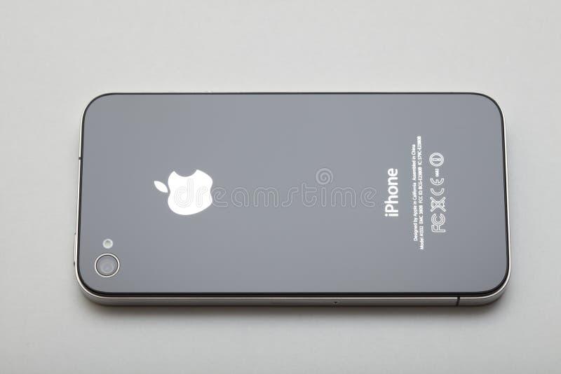 4 πίσω iphone στοκ φωτογραφία