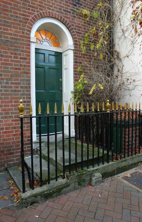 4 πόρτα Γεωργιανός στοκ φωτογραφία