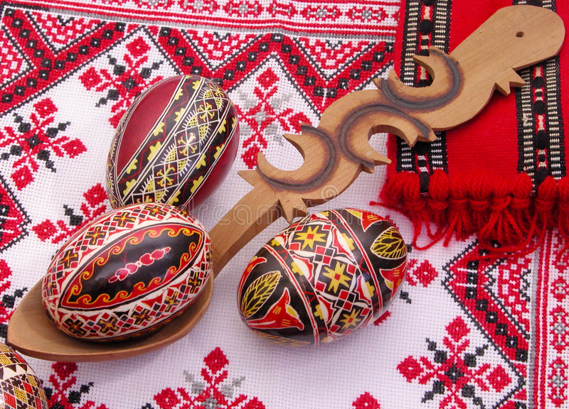 Download 4 ρύθμιση Πάσχα στοκ εικόνα. εικόνα από σπιρίτσουαλ, παράδοση - 95825