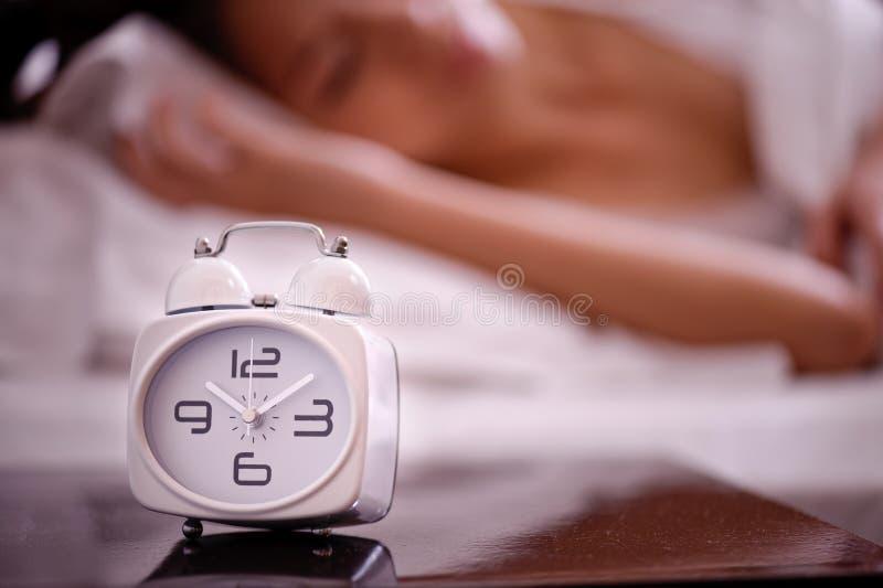 4 σειρές ύπνου στοκ εικόνες