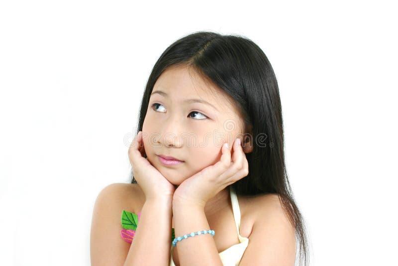 4 детеныша ребенка азиата стоковые изображения