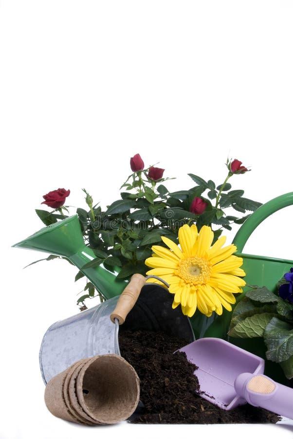 4 садовничая инструмента стоковые изображения