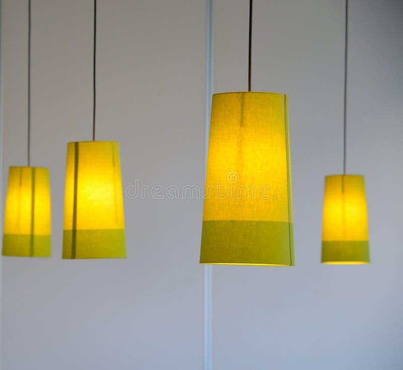 4 светильника стоковое изображение rf