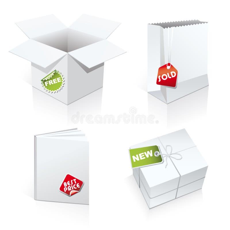 4 шаблона пакета установленных