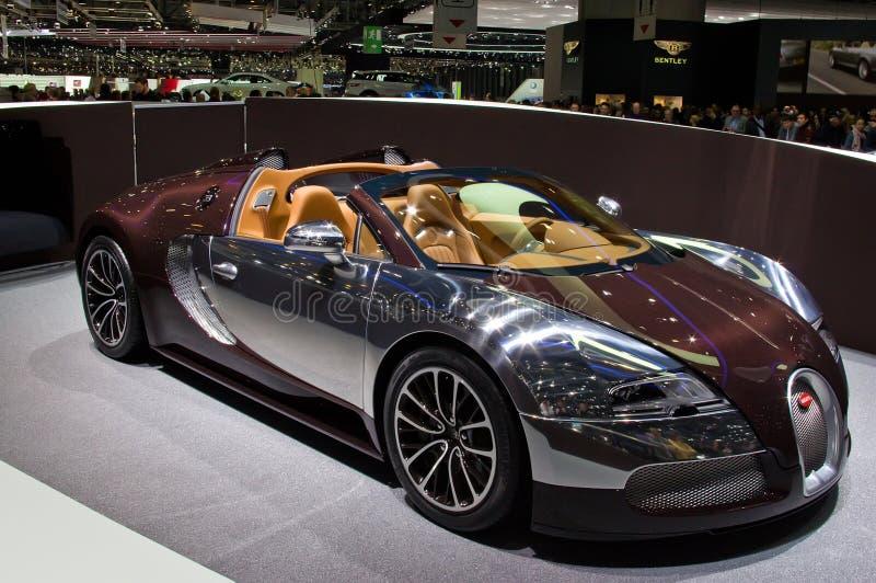 4 16 2012 bugattigeneva veyron arkivbilder