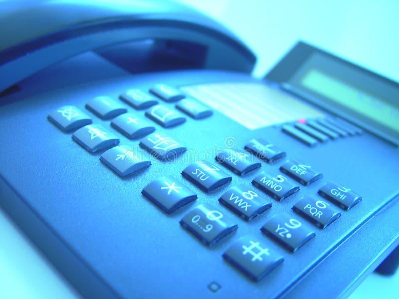 4个研究电话 免版税库存照片