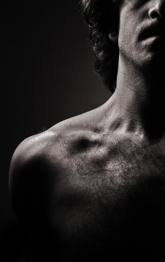 4男裸体 免版税库存图片
