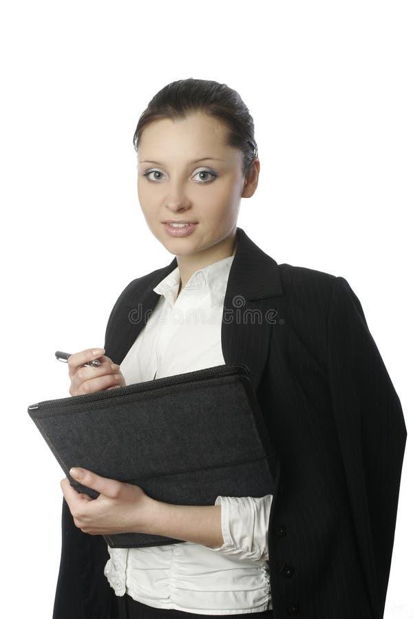 4 affärskvinnaförlagor royaltyfri bild