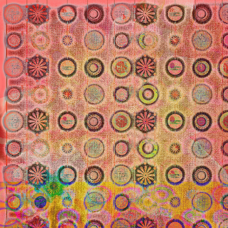 4 batik tła ilustracji