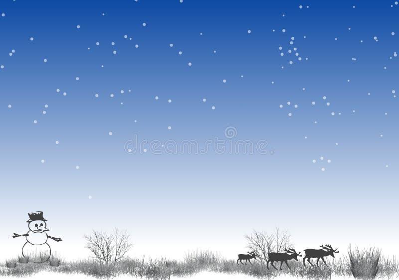4 biegun północny ilustracja wektor