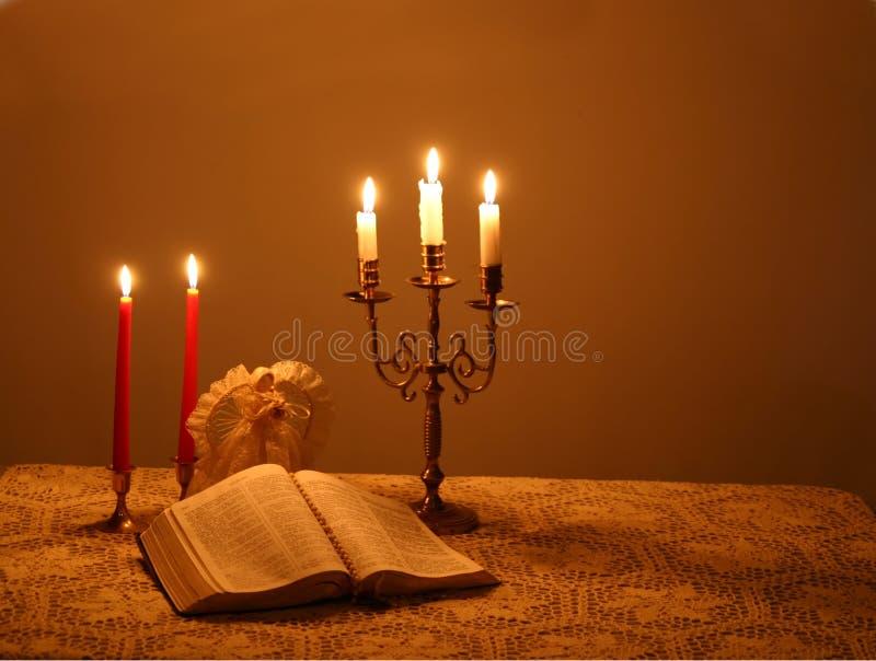Download 4 candlelightjul fotografering för bildbyråer. Bild av värme - 283107