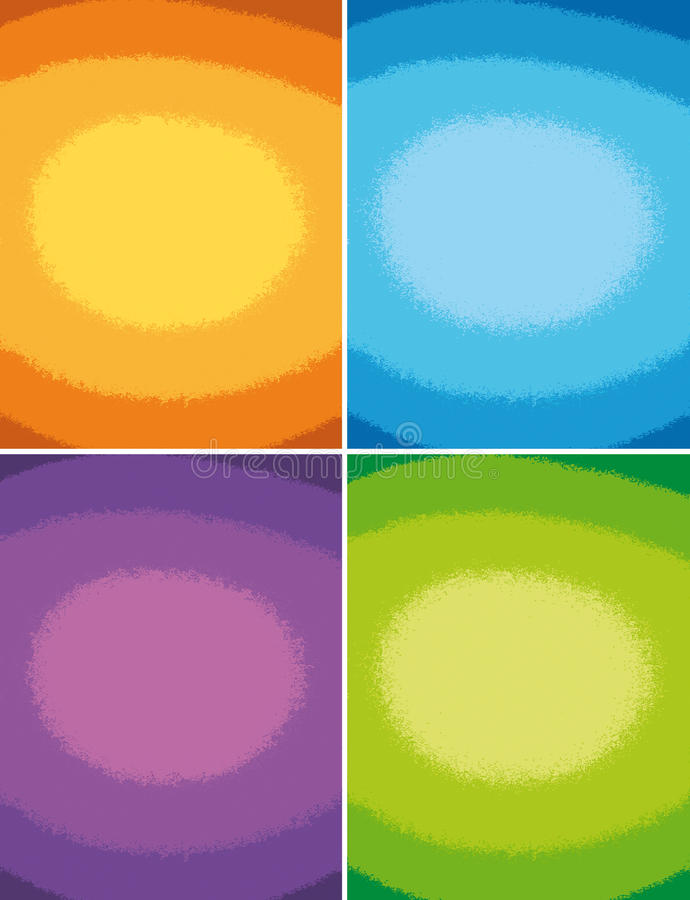 Download 4 colorful backgrounds stock illustration. Image of holiday - 9375156