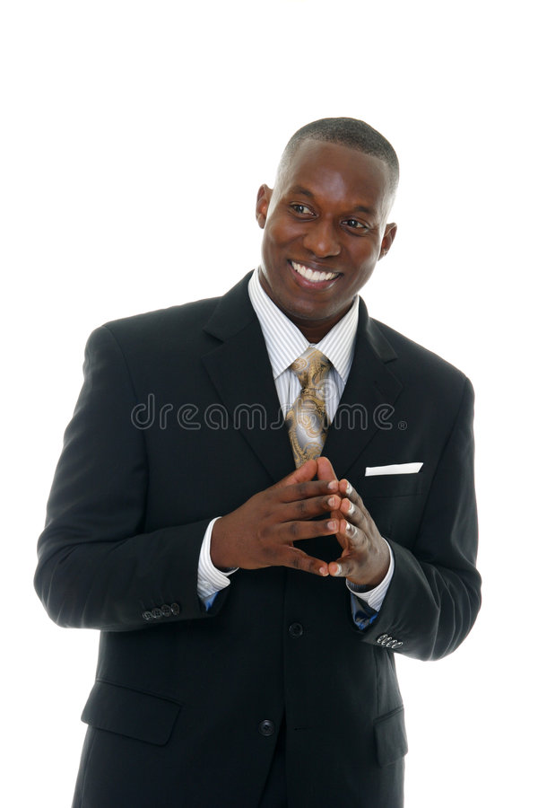 4 czarny garnitur stary biznes obrazy stock