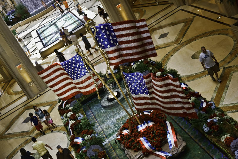 4 de julio Las Vegas imágenes de archivo libres de regalías