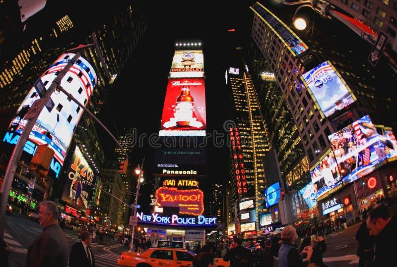 4 de noviembre de 2008 - el Times Square en NYC fotografía de archivo libre de regalías