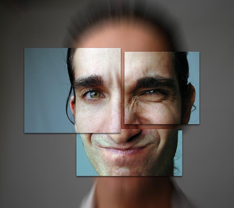 -4 divisé photos libres de droits