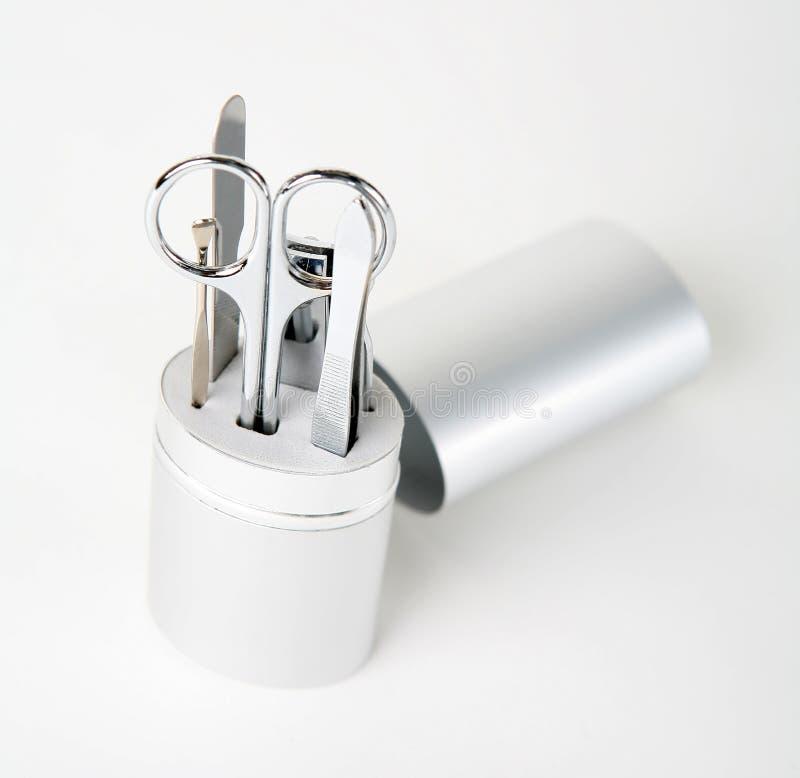 4 do paznokci narzędzi obrazy stock