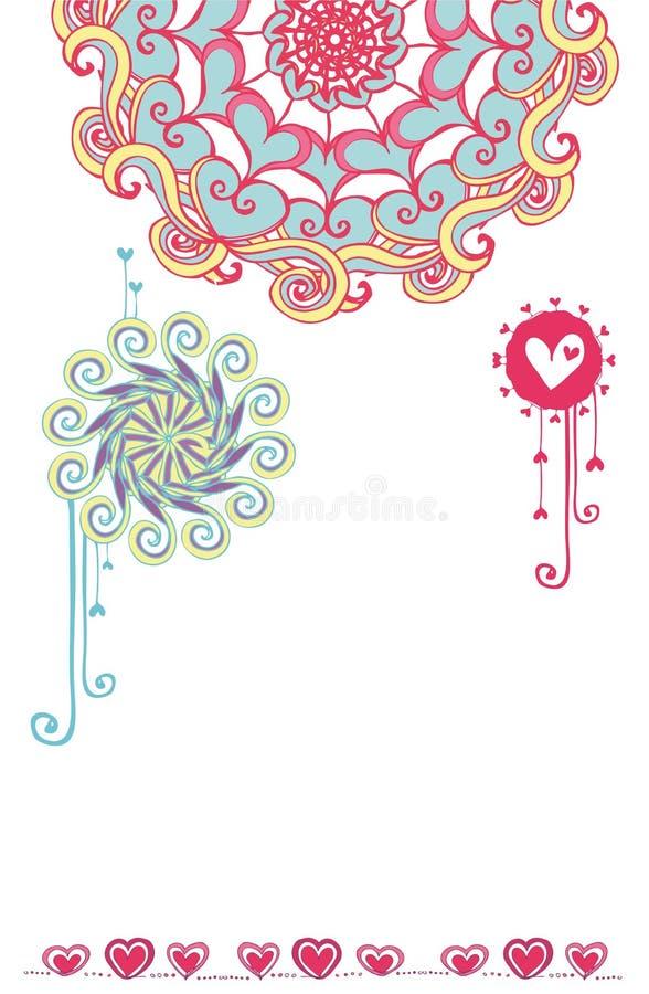 4 dzień s valentine ilustracja wektor