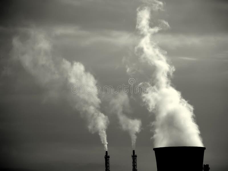 4 elektrownia zdjęcia stock