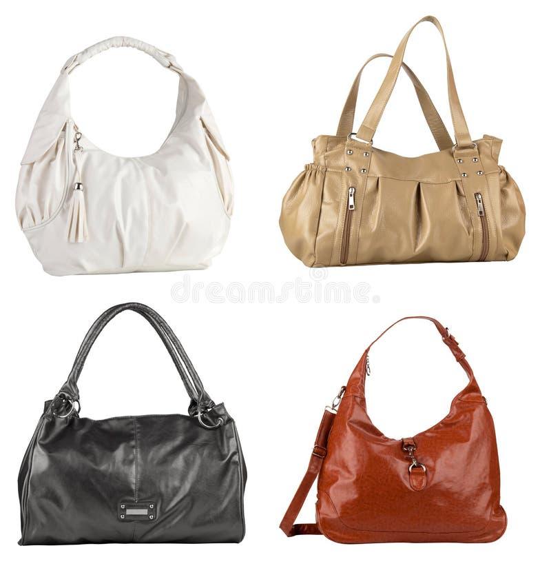 4 Handbags Royalty Free Stock Images