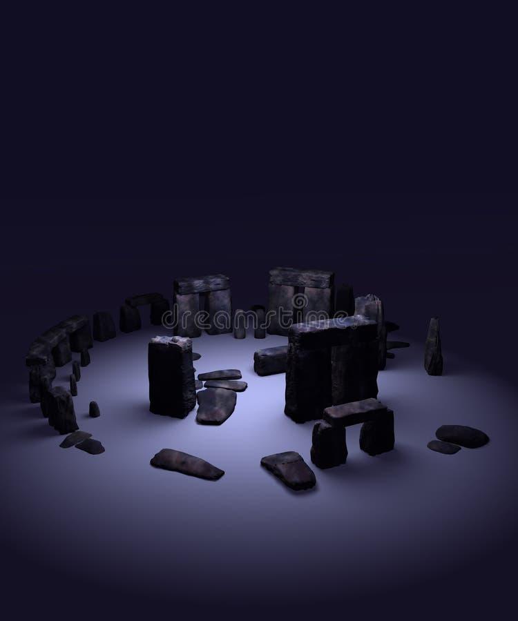 4 henge石头 免版税库存图片