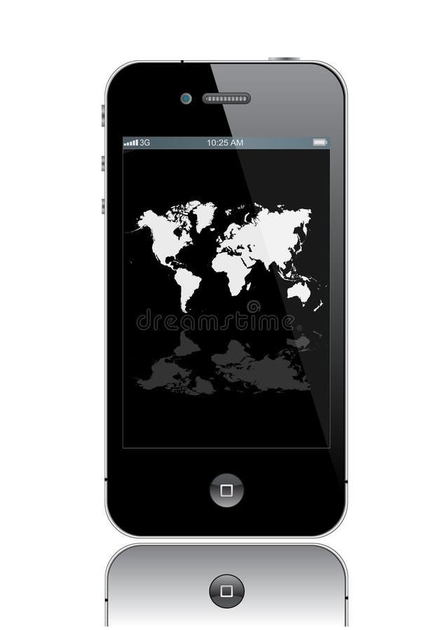 4 iphone ilustracja wektor