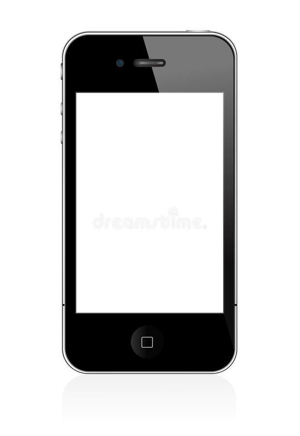 4 iphone royalty ilustracja