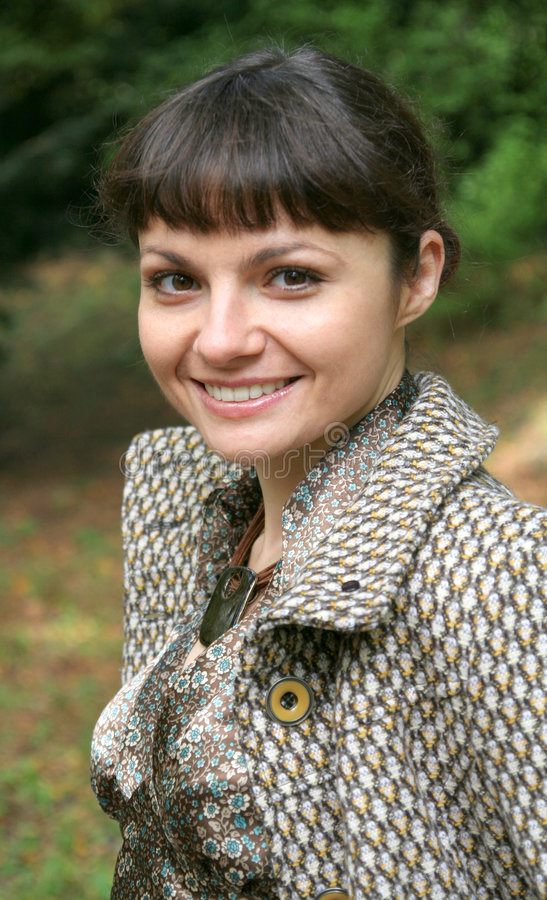 4 jesienią kobieta zdjęcia stock