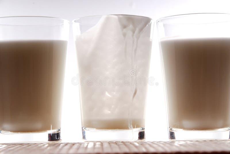 4 jogurt zdjęcia stock