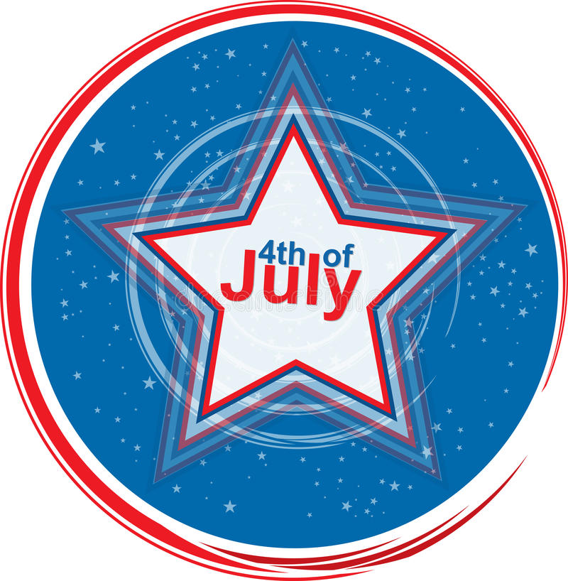 4 Of July Stock Photography